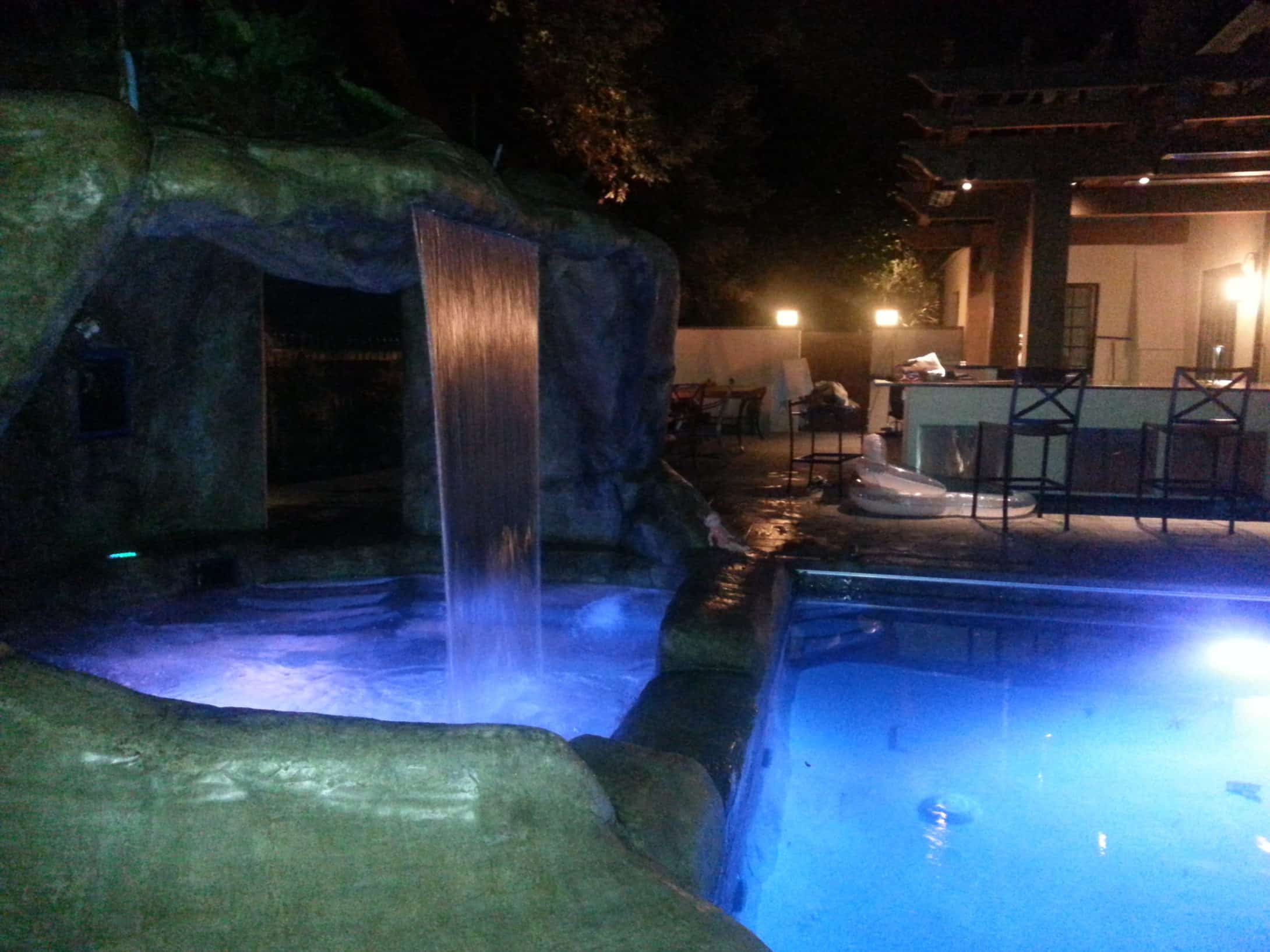 pool-with-waterfall-at-night-2